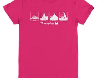Disney Mountaineer Shirts Gift Disneyland Mountain Shirt Child Youth