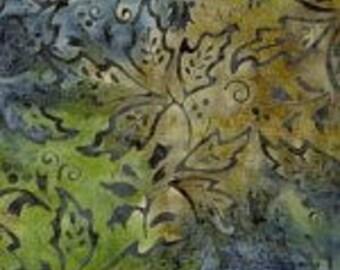 Primo Batiks -River Rock 0874 0120 Leaves