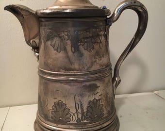 Antique pitcher large beautiful