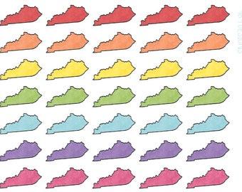 Kentucky Stickers || Planner Stickers