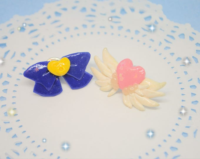 Sailor Moon Hearts Transformation Brooches