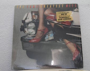 "The Cars - ""Greatest Hits"" vinyl record w/ Original Inner Sleeve"