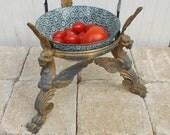 Original pot stand / bowl stand / tripod chimera / dragon / griffon original home decor fantasy / gothic home decor