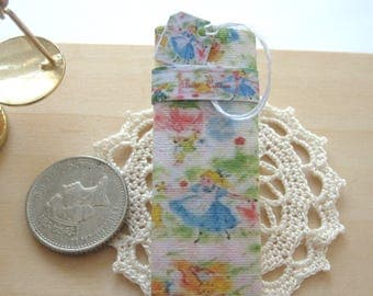 dollhouse sewing fabric bolt alice inspired 12th scale miniature