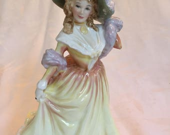 Royal Doulton Katie, Vintage Collectables, English Bone China, Collectable Figurines, Antiques Made in England