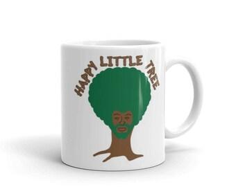 Happy Little Tree Bob Ross Mug