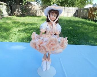 Fancy cowgirl doll