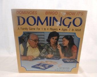 Domingo Board Game Whitman Bingo 1982