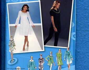 Simplicity Project Runway 3530 Dress, top, pants. Size 14-22 UNCUT