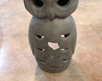 Outdoor Owl Lantern
