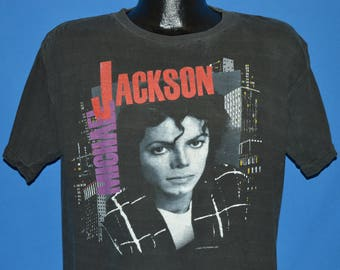 80s Michael Jackson Bad Tour 1988 t-shirt Extra Large