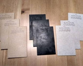 Kingsley Cushion Boards hot foil stamping tool for machine Lot of 9 Soft, New Medium, Old Style Black