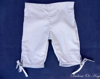 Capri pants cotton grey - 2 years