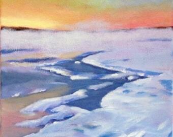 Winter on the Marsh, Original Painting