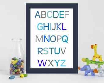 ABC, Alphabet Print