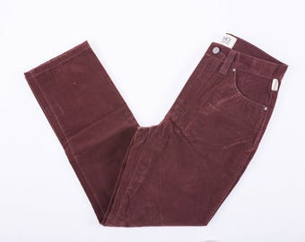 90's Versace Velvet Corduroy Pants / Jeans