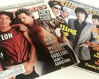 Rolling Stone Magazine The Rolling Stones December 1997/ September 2005 Music Collectible Magazines