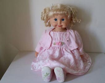 Vintage  Cricket  Doll  Cloth And Vinyl  24""
