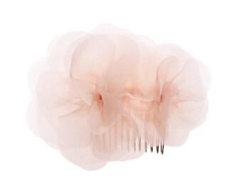 """Wedding Hair Flower, bridal headpiece - """"Carla"""""""