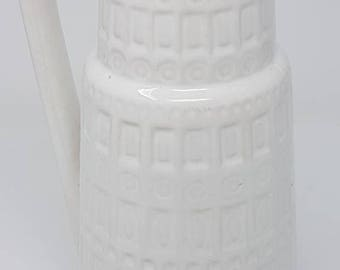 Huge 1960s Ceramic Vase - Mid Century Vase - Scheurich Keramik - Design Inka - Fat Lava Vase - Model No. 416-26