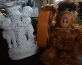 FREE SHIPPING, Vintage, Collectible Alf Telephone