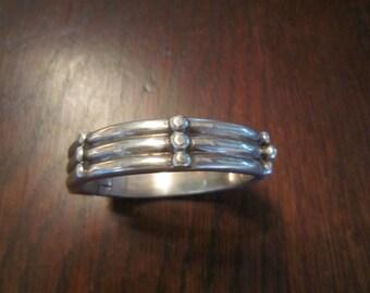 Tane Sterling Hinged Bracelet