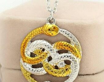 auryn neverending story snake necklace