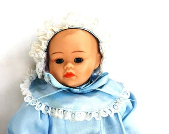 Vintage Collectible Doll - Baby doll, Porcelain doll