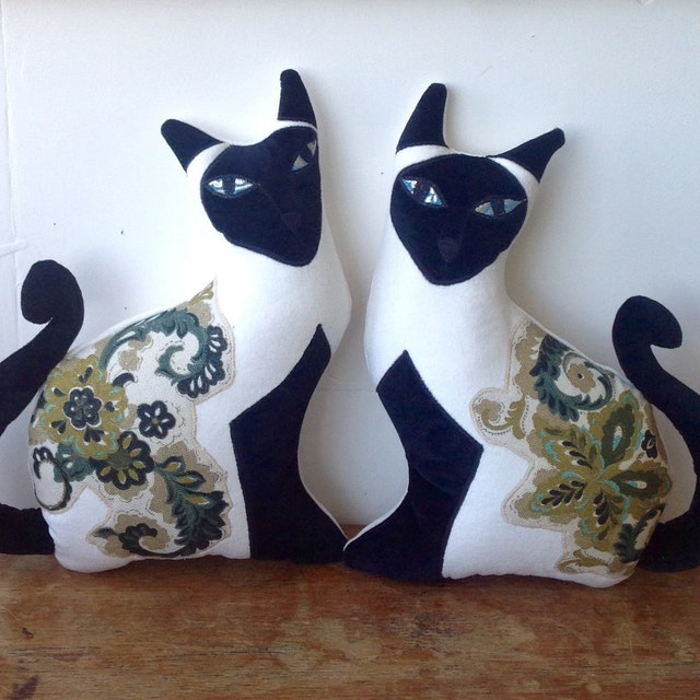 Animal Shaped Throw Pillows : Animal shaped Cushions and botanical pillows . by MariaTilyard