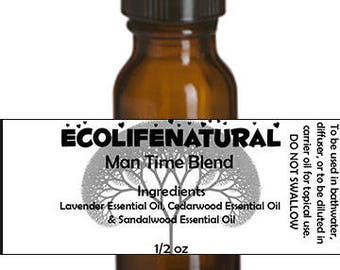 SALE Man Time Essential Oil blend