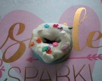 Scented Candle -Wax Tarts- Handmade Candle - Donuts Shape Candle Melts -Candy Sprinkles Candle Melts -2oz