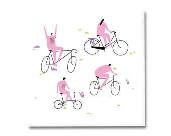 Greeting Card - Bikers