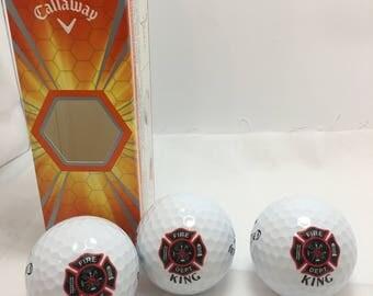 Custom Printed Golf Balls and Golf Towels