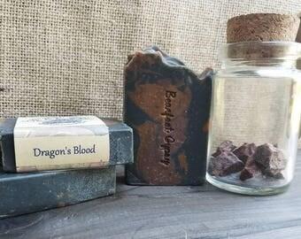 Goats Milk Soap - Dragons Blood Soap - Natural Soap - Palm Free Soap