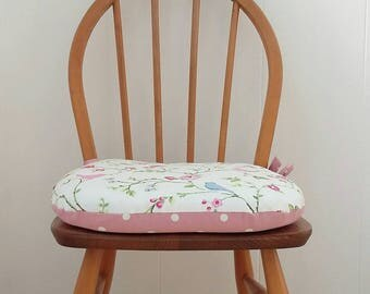 Chair Cushion Dining Seat Pads Tie On Kitchen Chairs Bespoke
