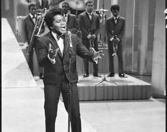 James Brown on the Ed Sullivan show 1960's