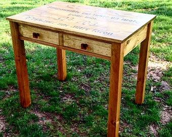 custom built writing desk small sized desk writing desk with drawers petite desk
