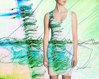 "Sublimation Cut & Sew Dress ""The Rush Aesthetic"""