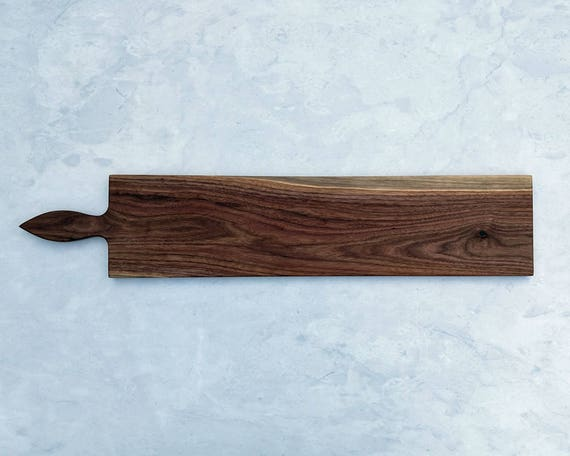 36 Inch-Large Serving Platter- Cheese Board- Walnut- by Red Maple Run