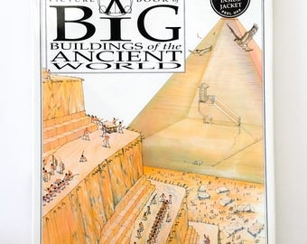 The Xray Picture Book of Big Buildings of the Anchient World / first Edition / 1992 / Vintage /Collectable