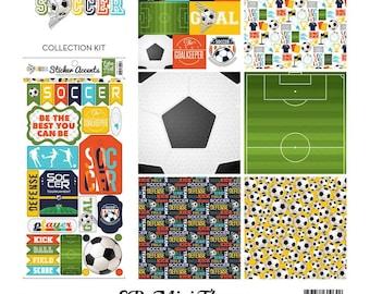 """Echo Park Mini Theme Kit """"Soccer"""""""