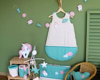 Set for little girl's room