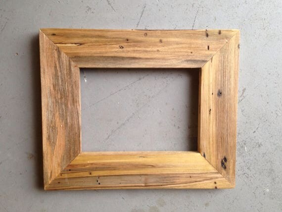 5x7 maple wood picture frame from jonesframing on etsy studio. Black Bedroom Furniture Sets. Home Design Ideas