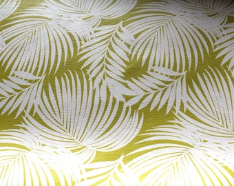 Faux leather lime and white 50x70cm