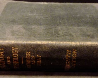1931 Textbook of Anatomy and Physiology- Hardcover