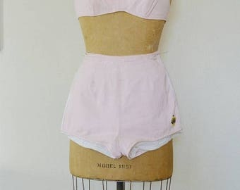SUMMER SALE 1950's Duke Kahanamoku // Swim Suit