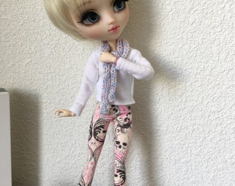 Pastel leggings Gothic pullip