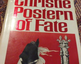Agatha Christie Postern of Fate paperback vintage book