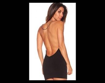 Backless chain dress