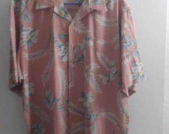 Ralph Lauren Polo Hawaiian Shirt Camp Shirt XL